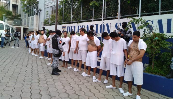 Más de 50 personas detenidas durante la última semana por diferentes delitos