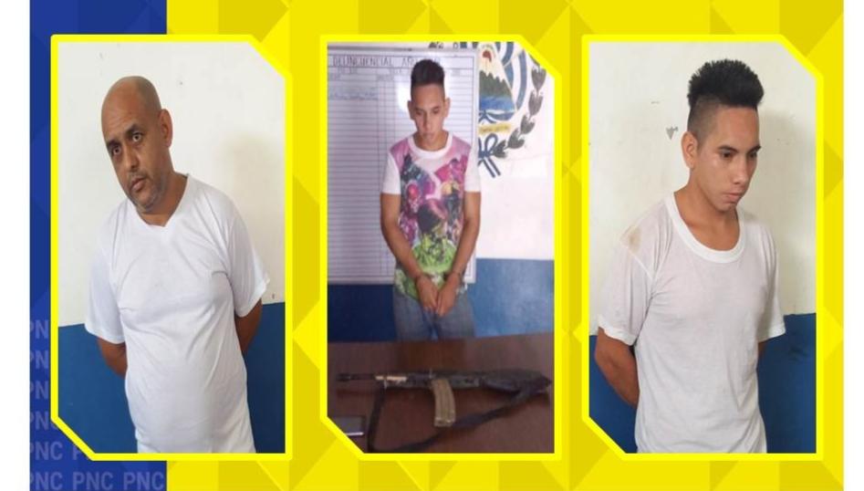 En Jocoaitique, Morazán incautan arma de fuego artesanal tipo fusil M16