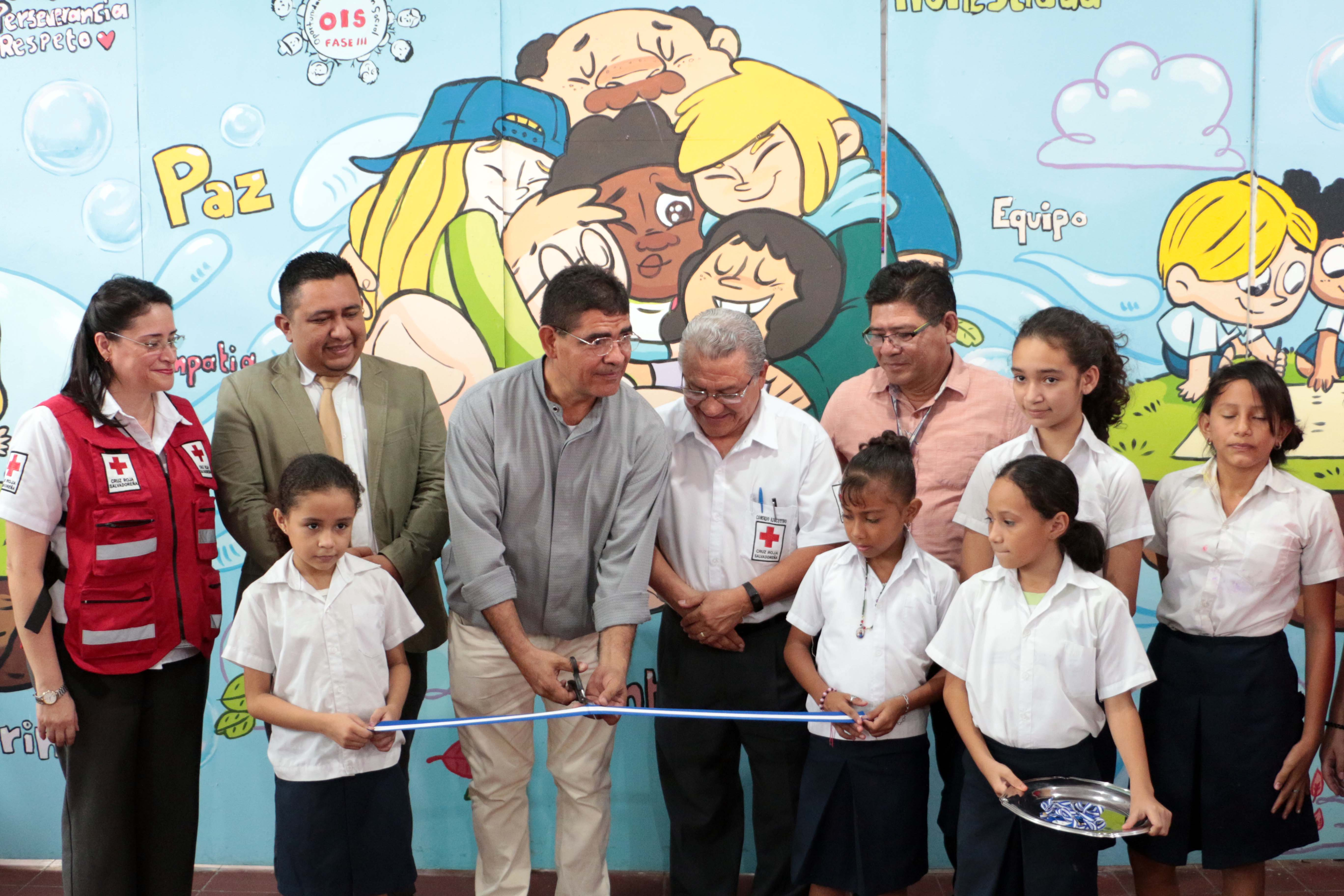Inauguran Aula de Convivencia e Integración Escolar en escuela de Apopa