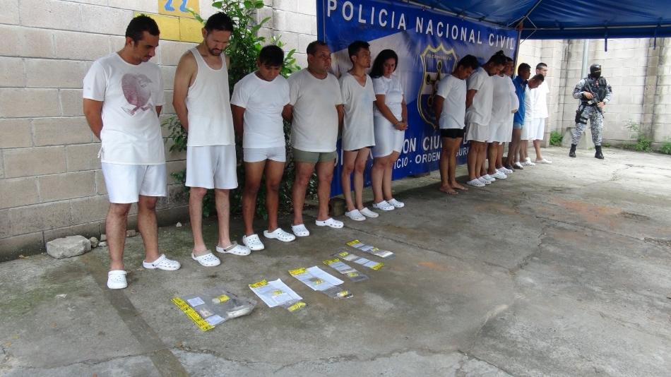 Importantes arrestos producto del trabajo policial en Mejicanos