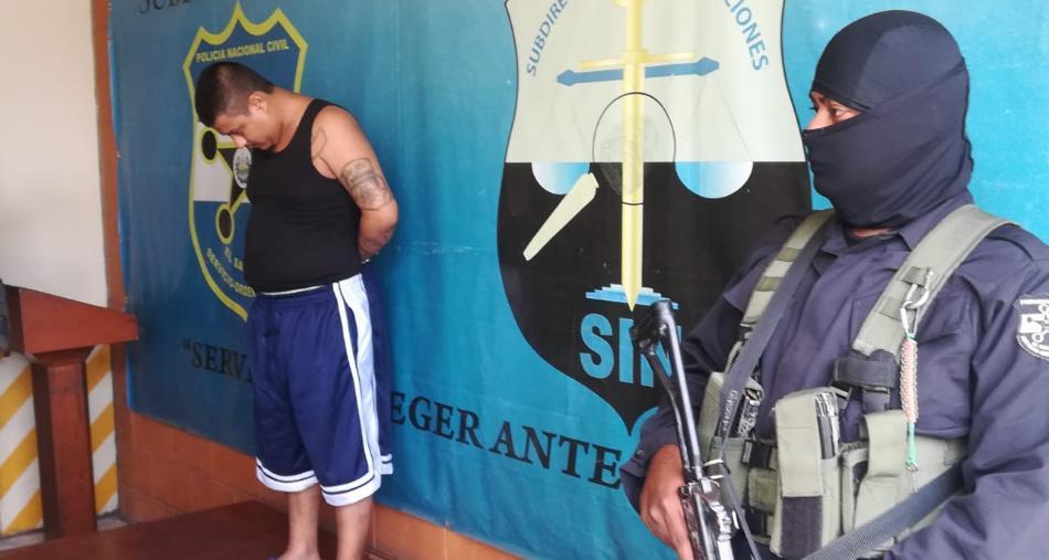 Cae en Soyapango cabecilla de pandilla que ordenó atentados en contra de policías y militares