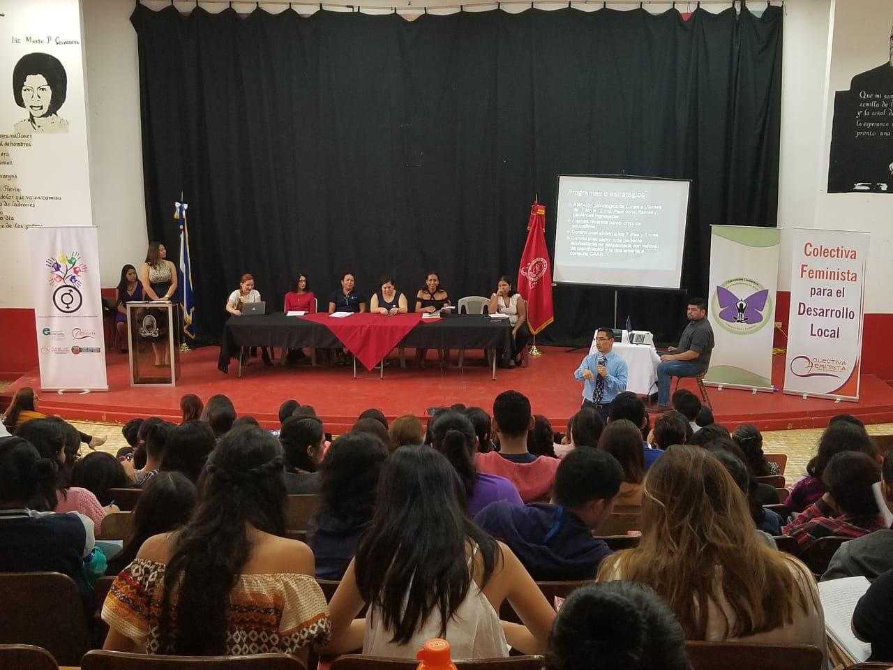 Organizaciones Defensoras de Derechos Humanos realizan Foro sobre Salud Sexual y Reproductiva.