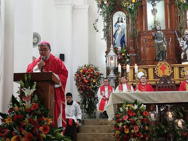 Chalchuapa celebra sus 450 año de patronazgo de Santiago Apóstol y 100 años de la Cofradía de la Cruz