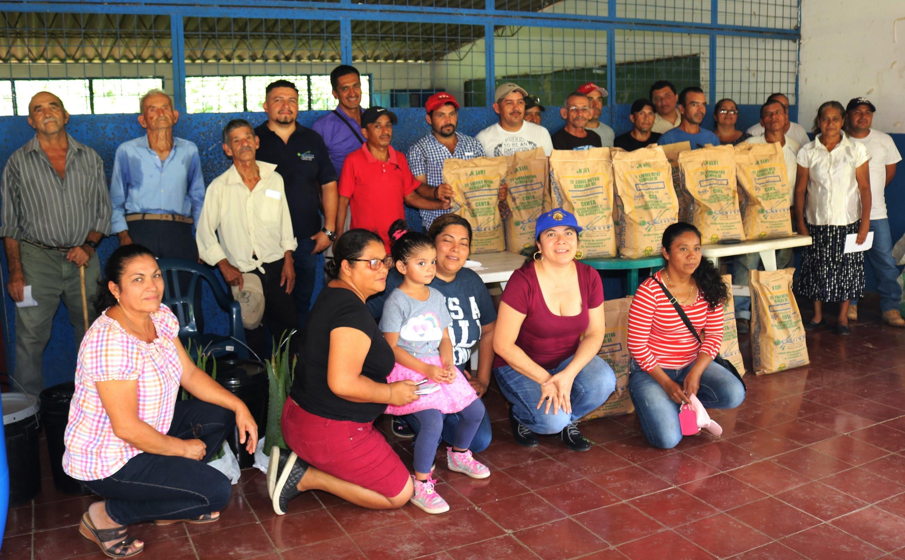 SEMBRARÁN POR PRIMERA VEZ VARIEDADES MEJORADAS DE SORGO EN SAN ANTONIO PAJONAL