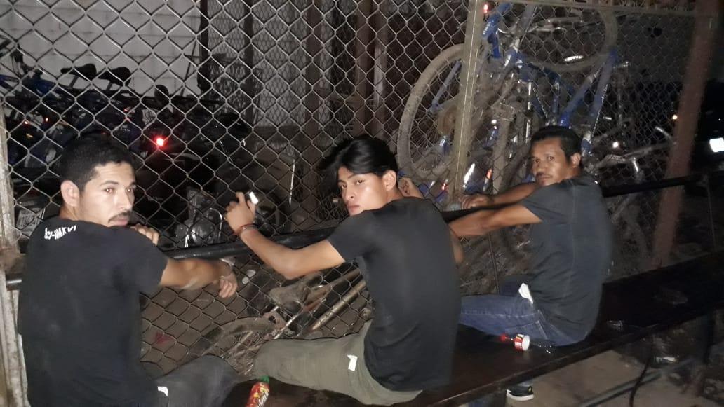 PNC logra la captura de tres hombres que robaban celulares en Santa Ana