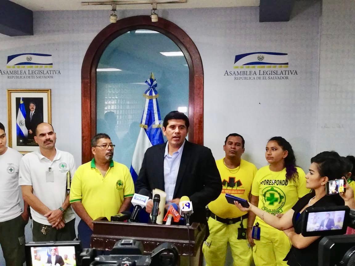 Comandos de Salvamento y Cruz Verde urgen aprobación de incremento a su presupuesto