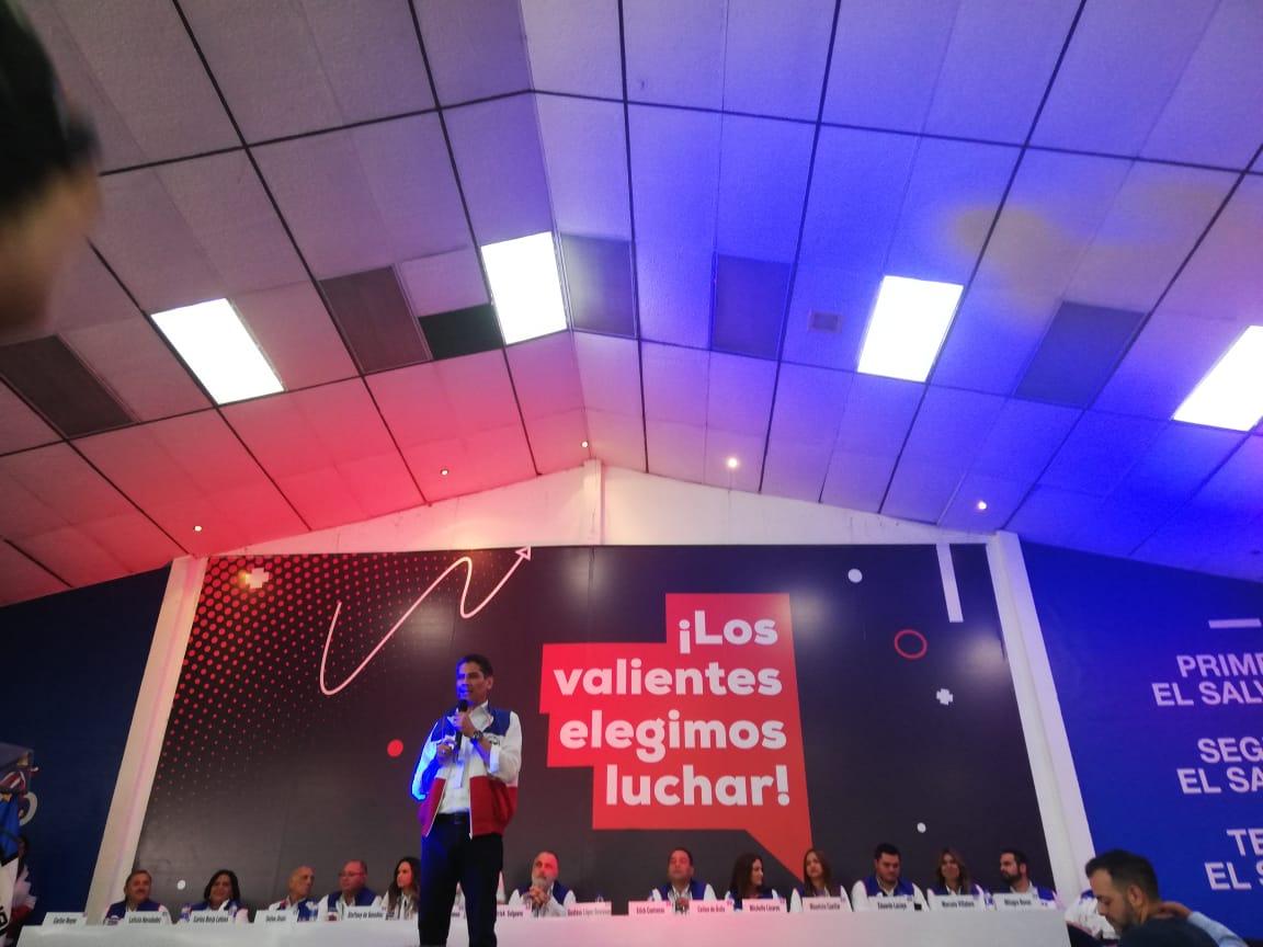 Gustavo Lopez:  En ARENA vamos a escribir una nueva historia.
