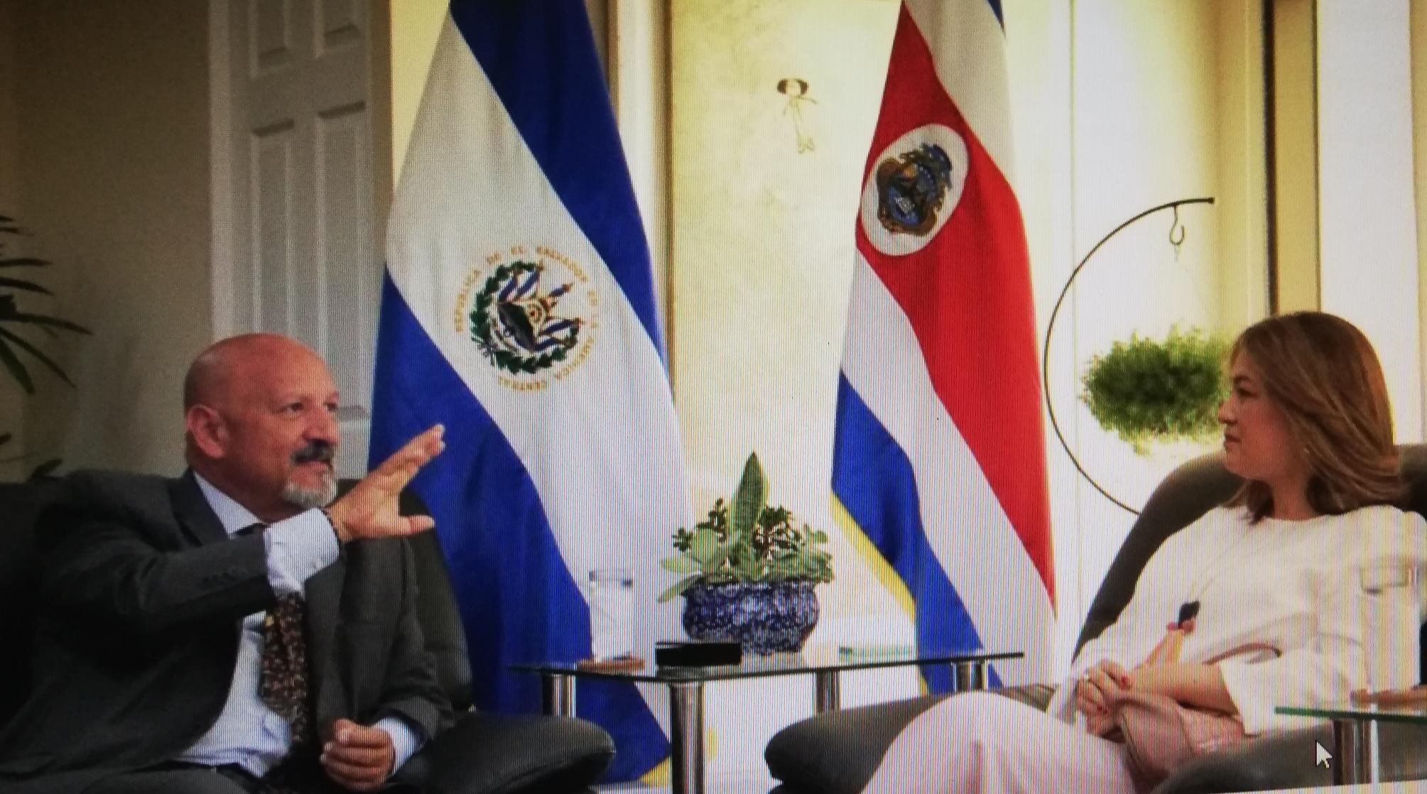 El Salvador y Costa Rica unen esfuerzos para articular un proyecto de prevención de violencia