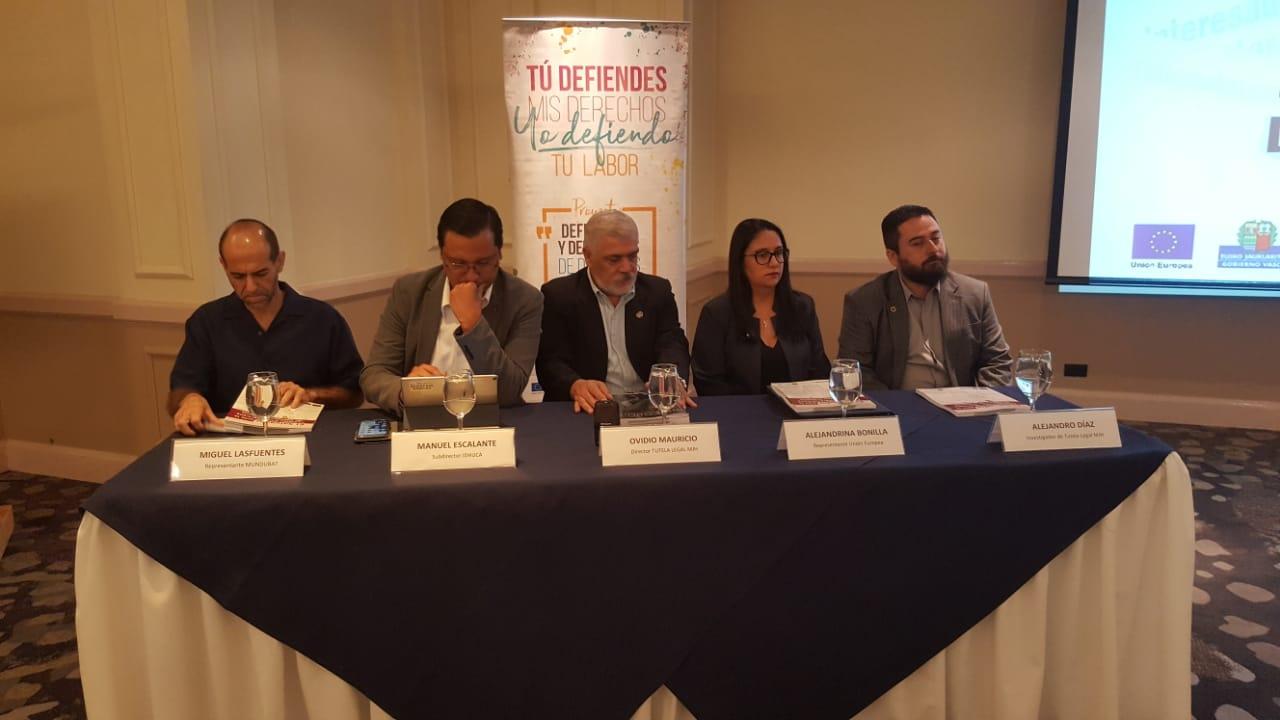 COMUNICADO Organizaciones de derechos humanos presentan informe: El Salvador ante la Comisión Interamericana de Derechos Humanos (CIDH)