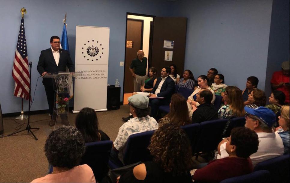 Gobierno salvadoreño fortalece trabajo con diáspora en California, Estados Unidos
