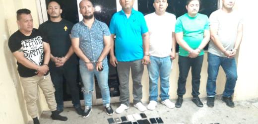 Policía detiene a 7 receptadores e incauta cerca de 100 teléfonos celulares en San Salvador