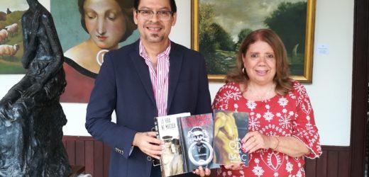 Exitoso novelista salvadoreño lanza su libro en la Biblioteca Legislativa
