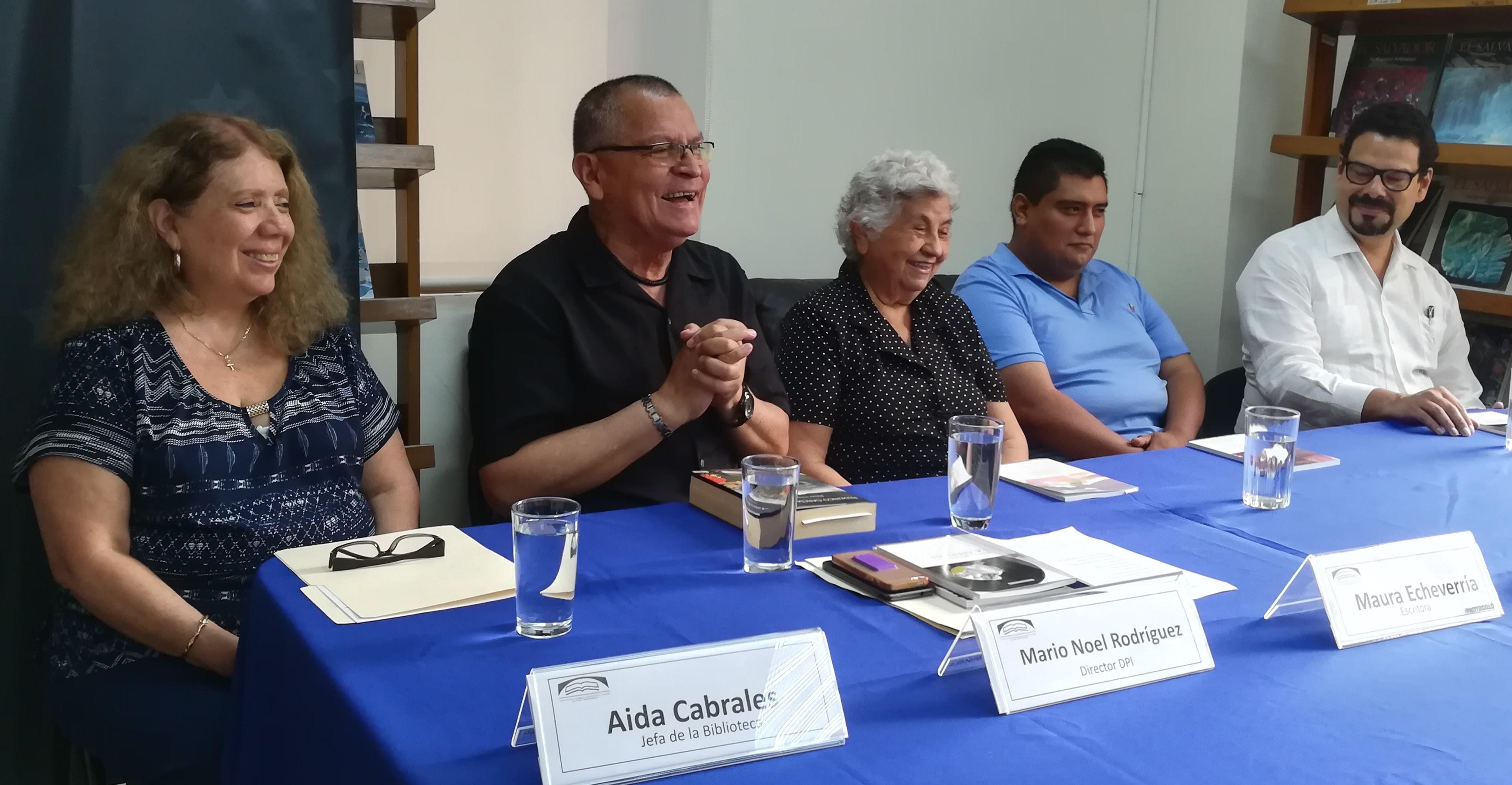 Tres nuevos poemarios  enriquecen la Biblioteca Legislativa Salvadoreña