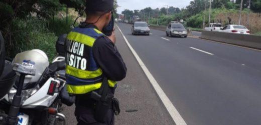 Tránsito reporta 1705 arrestos por conducción peligrosa a esta fecha
