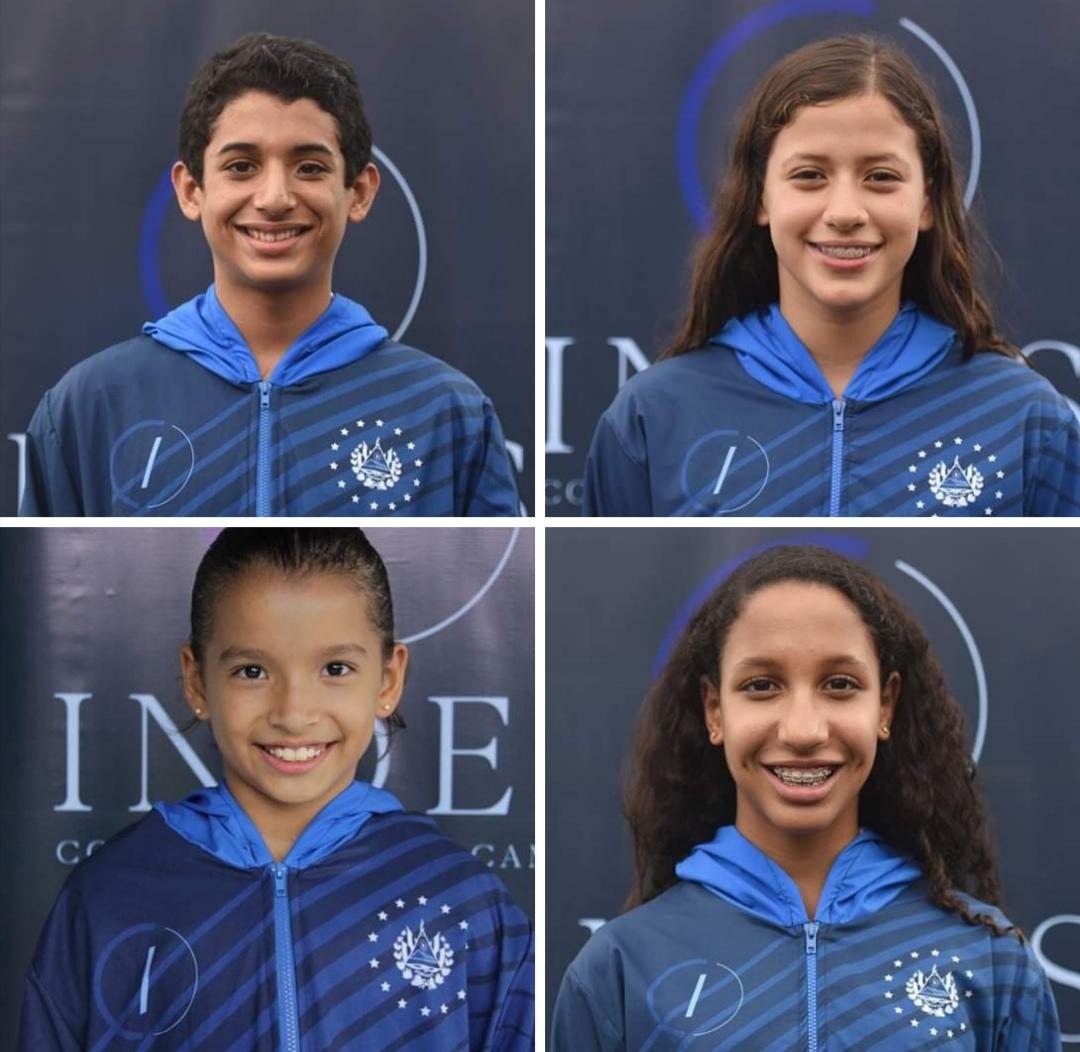 Lujo de jóvenes deportistas salvadoreños en el CODICADER