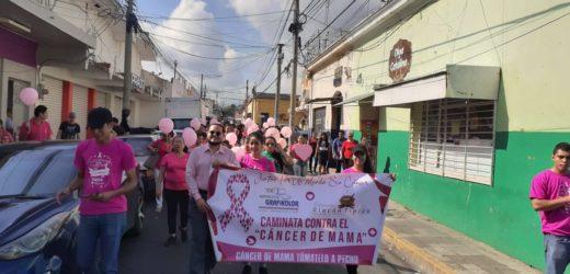 Hospital Cáder realizó su novena caminata rosa