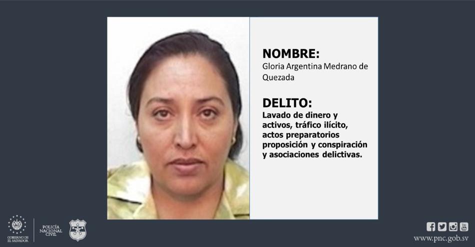 Capturan a salvadoreña procedente de México por lavado de dinero y activos