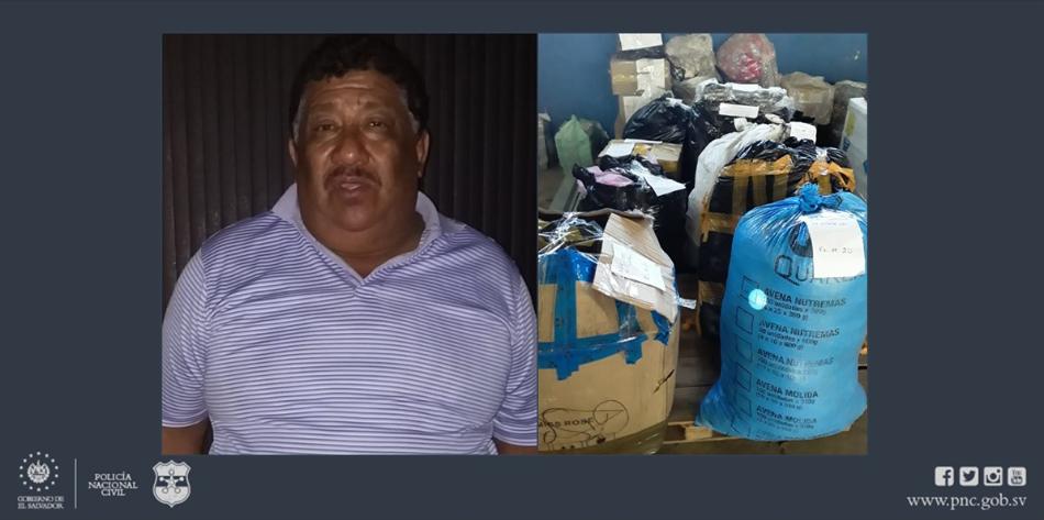 Detienen a guatemalteco con unos $15,000 en mercadería en Las Chinamas, Ahuachapán
