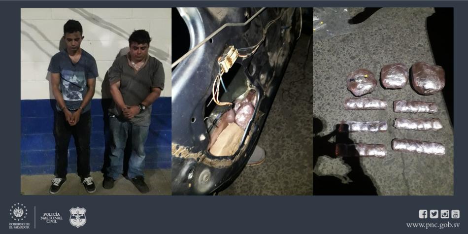 Cae guatemalteco y salvadoreño con más de $6,200 en marihuana en Ahuachapán
