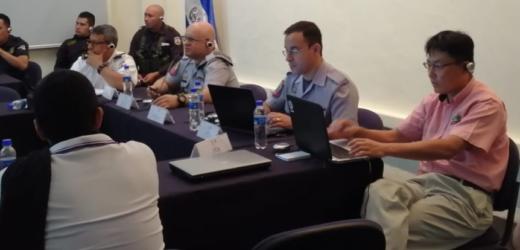 Policías salvadoreños y brasileños, con el apoyo de Japón, comparten experiencias sobre policía comunitaria