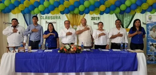 Alcaldia Municipal de Metapan clausura sus Talleres Vocacionales 2019