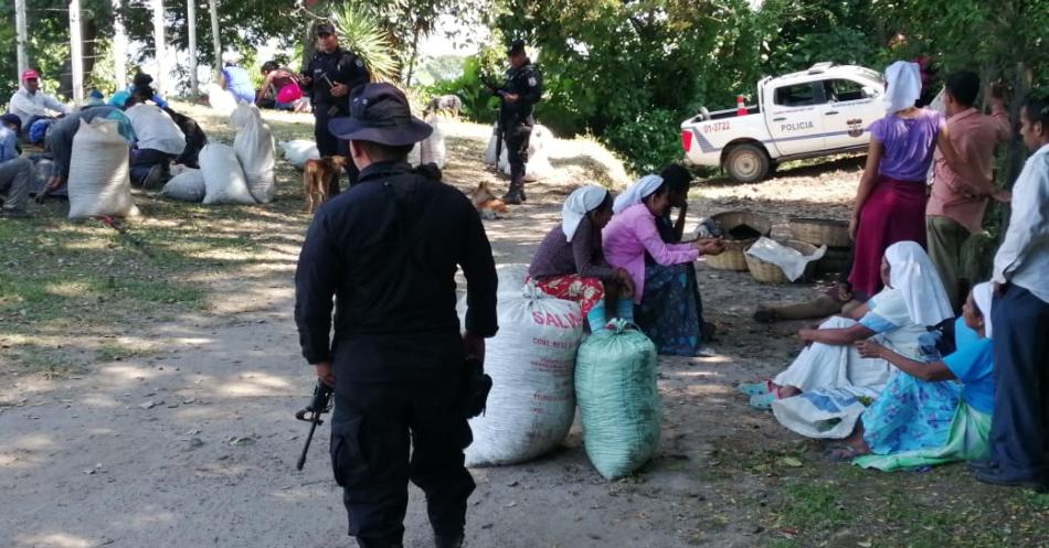 Policía Rural garantiza recolección de café en Nejapa y Apopa