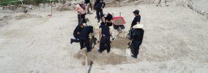 Miembros de organizaciones terroristas habrían ocupado predios baldíos como cementerios clandestinos