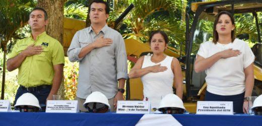 FONAES E ISTU INAUGURAN PROYECTO DE RESTAURACIÓN EN PARQUE WALTER THILO DEININGER