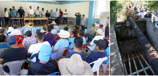 Constatan daños en sifón conductor de agua en Distrito de Riego Lempa-Acahuapa
