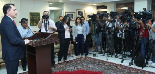 Presidente Ponce insta a buscar acuerdos para aprobar a tiempo el presupuesto 2020 y los $91 Mills. para plan de seguridad