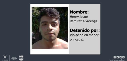 Policía detiene en Santa Tecla a pandillero acusado de violar a 2 menores