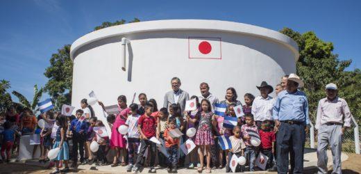 Japón financió construcción de Sistema de Agua Potable en Ahuachapán