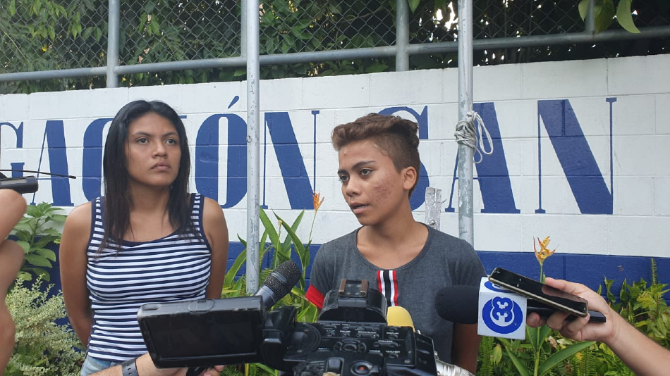PNC rescata en Soyapango a menor privada por 2 mujeres y las detiene