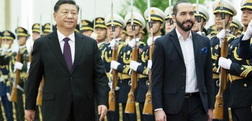 La curiosa luna de miel de China y El Salvador