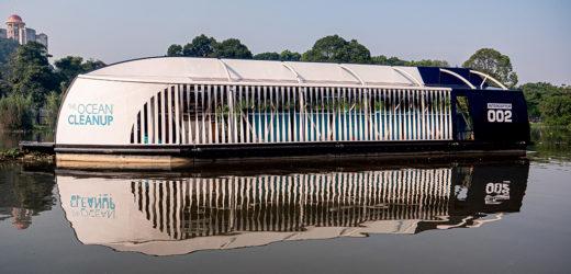The Ocean Cleanup proporcionará barcaza automatizada para extraer plásticos en río Lempa