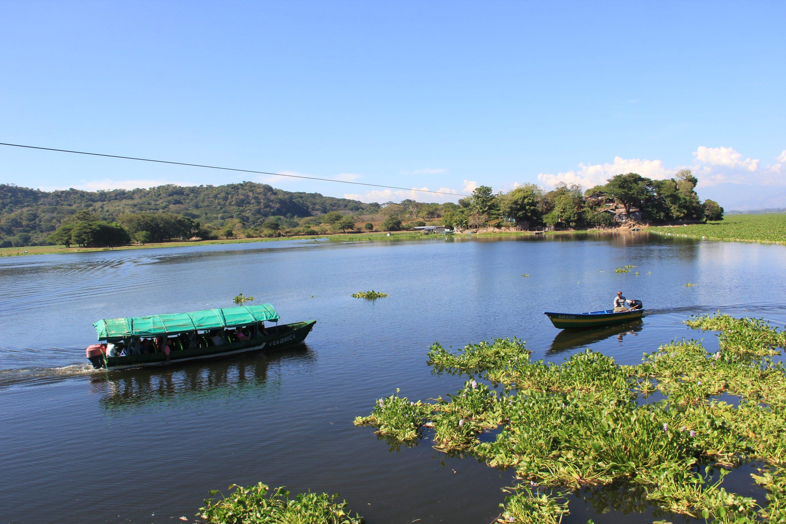 Reactivan navegación en Puerto San Juan tras retiro de ninfa del lago Suchitlán