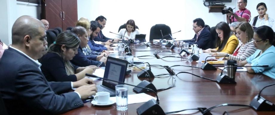 Comisión de Medio Ambiente y Cambio Climático se convoca a titulares  para analizar problema de invasión de Lirio de Agua en lagos y lagunas del país.