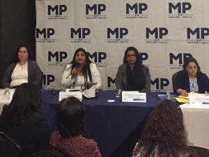 Fiscalía expone en Guatemala avances en materia de violencia contra las mujeres