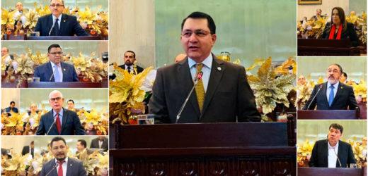 Instan a defender los valores democráticos y propiciar diálogo para garantizar gobernabilidad, al conmemorar los 36 años de la Constitución