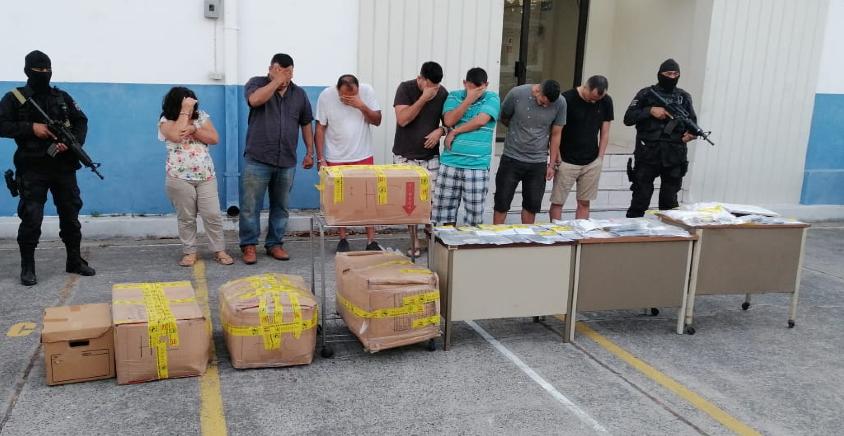 División Antinarcóticos impacta estructura de narcotraficantes y se incauta droga, dinero en efectivo y vehículos en San Miguel