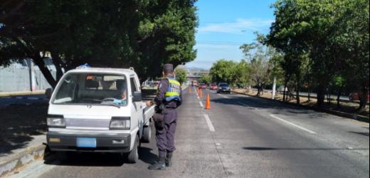Más de 80 conductores peligrosos detenidos entre el 1 y 19 de enero, a escala nacional