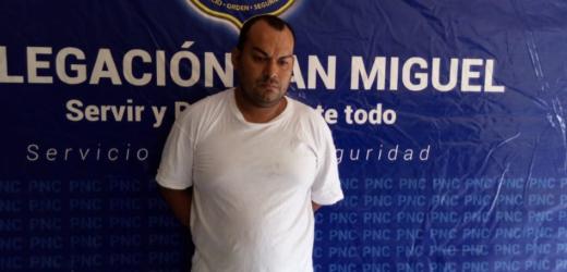 Policía incauta marihuana a colaborador de estructura criminal en San Miguel