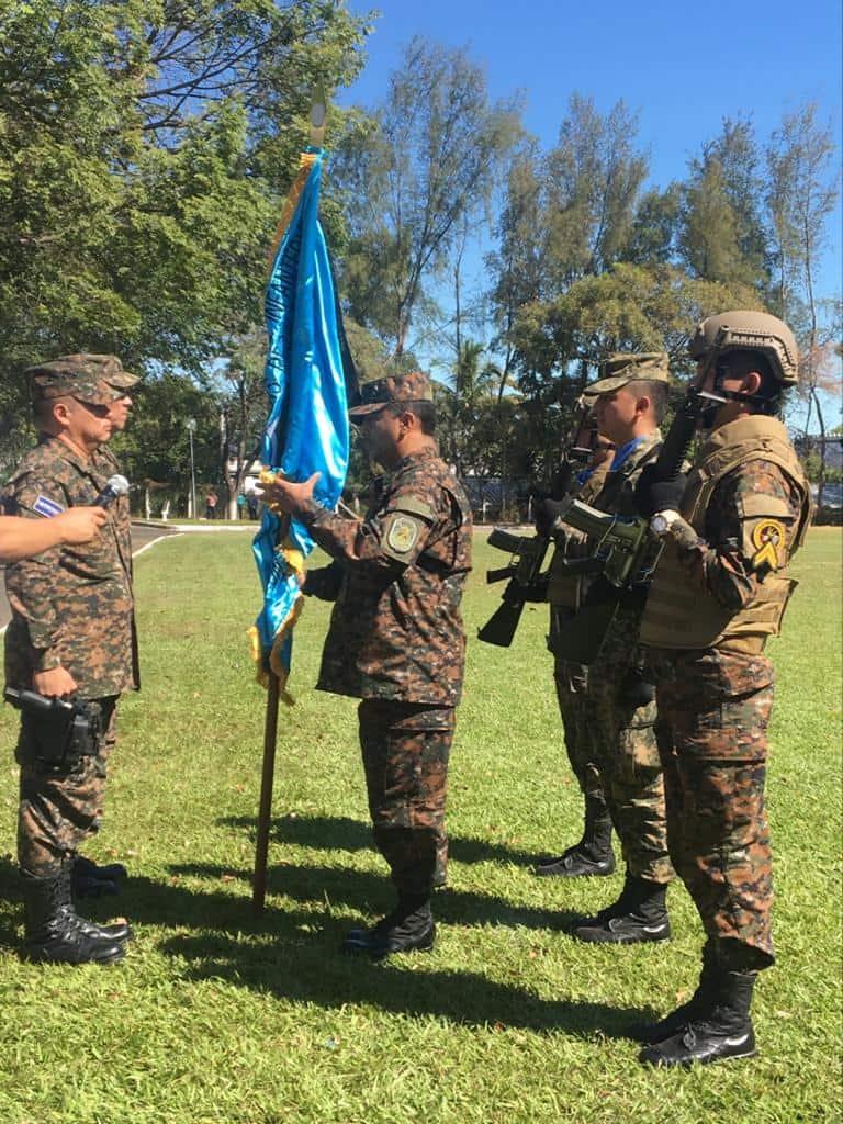 Traspaso de mando en Segunda Brigada de Infantería Gral. Tomas Regalado