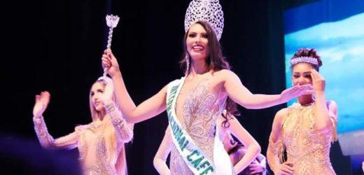 Salvadoreña se lleva la corona de la Reina Internacional del Cafe