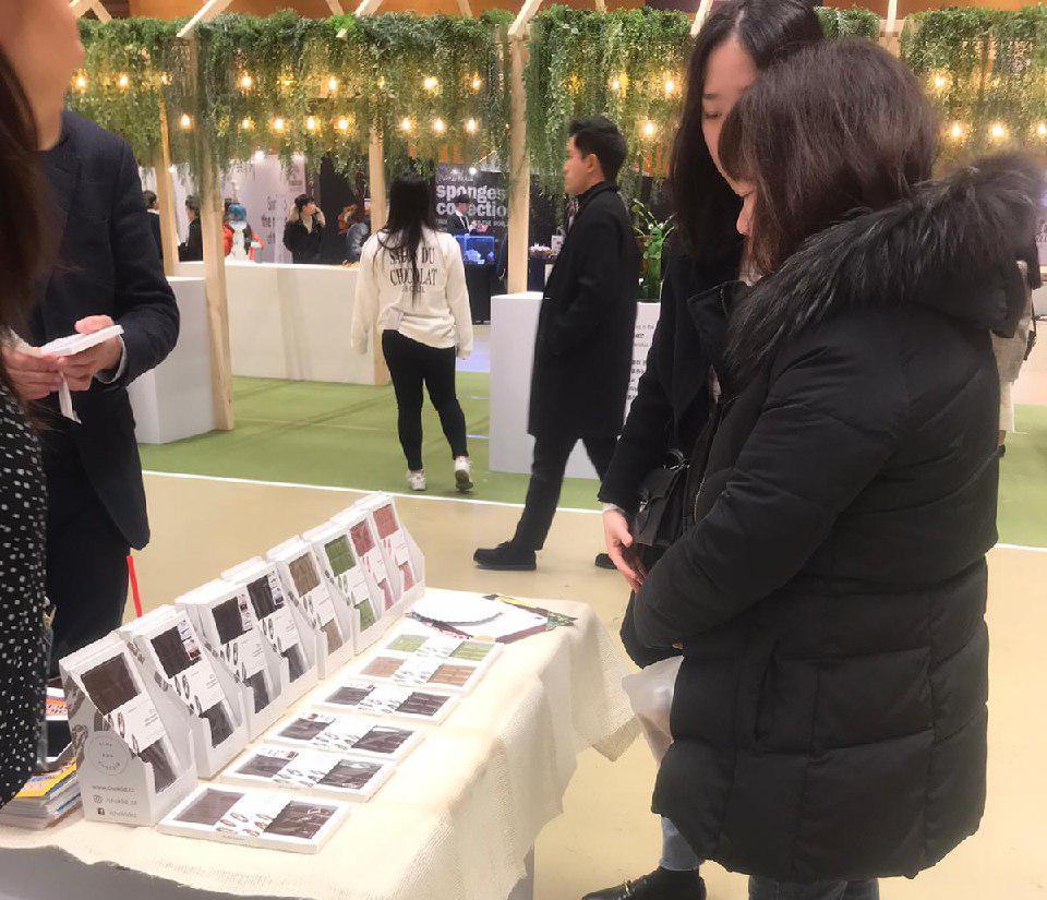 La calidad del cacao salvadoreño es reconocida en una importante feria de chocolates en Corea