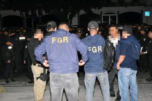 FGR de Santa Ana ordenó la detención de 49 miembros de una estructura delincuencial por diferentes delitos