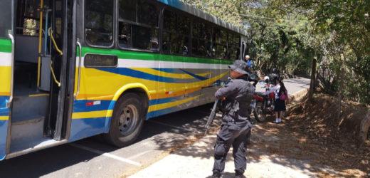 Policia de Transito verificará medidas preventivas del COVID-19 en el transporte colectivo y terminales del país