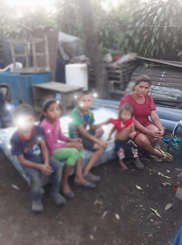 Familia santaneca necesita de tu ayuda