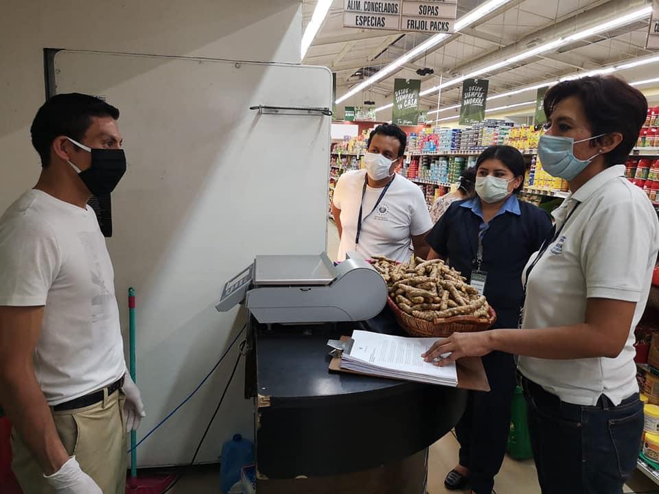 Inspecciones preventivas en supermercados y alcaldías