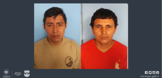 Policía captura en flagrancia a dos agresores sexuales en Usulután